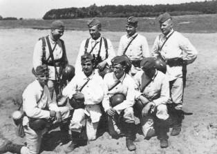 German snow uniforms